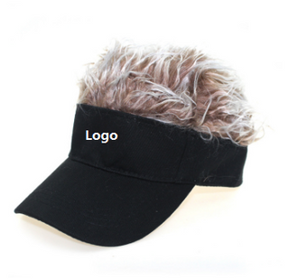 Visor Golf Cap With Peluca